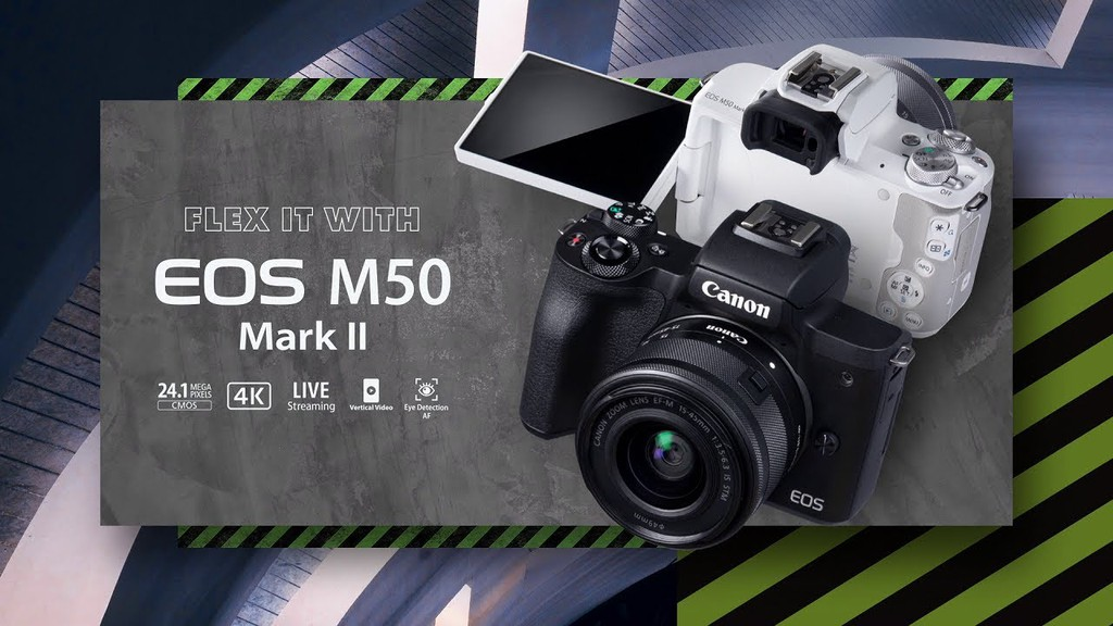 Canon công bố EOS M50 Mark II với một số nâng cấp, giá 600 USD ảnh 1