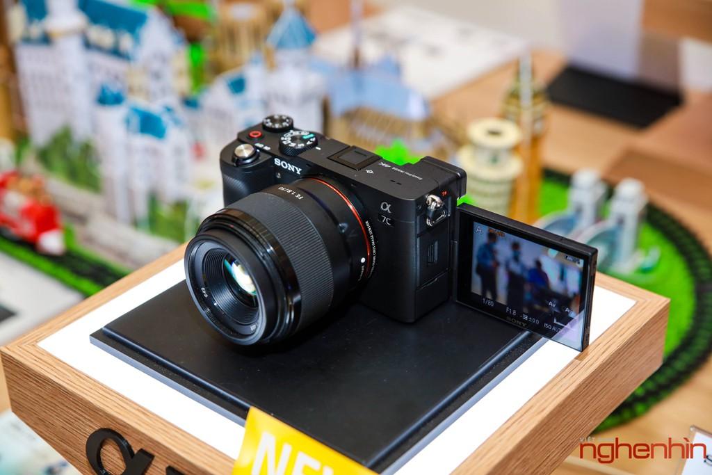 Sony Việt Nam ra mắt máy ảnh Full-frame Alpha 7C giá từ 41 triệu ảnh 1