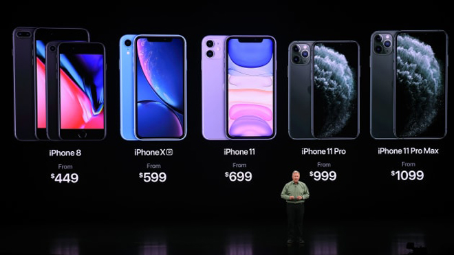 thap ky iphone: apple da