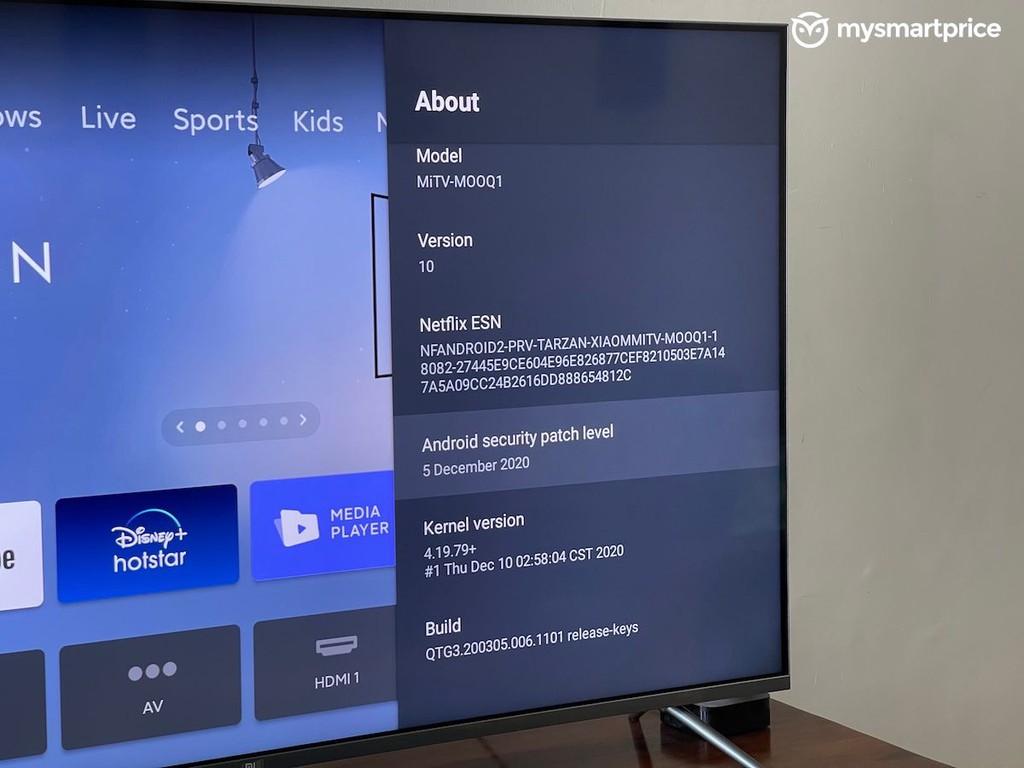 Mi TV Q1 4K QLED ra mắt: 55 inch, hỗ trợ HDR, Dolby Vision, giá 748 USD ảnh 4