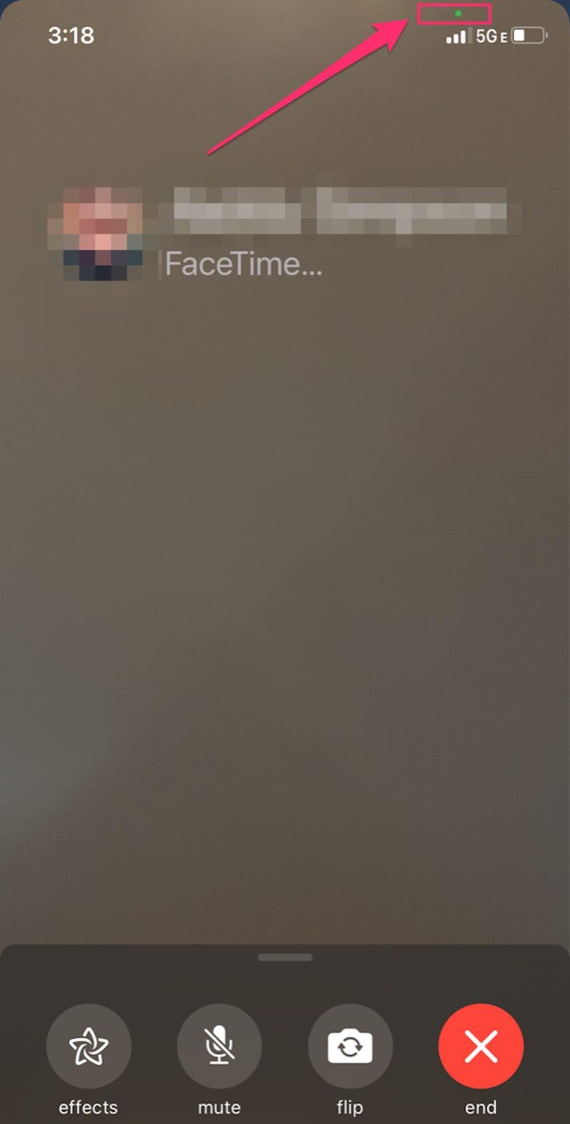 Các chấm màu xanh lá cây và màu cam trên iPhone là gì? ảnh 3