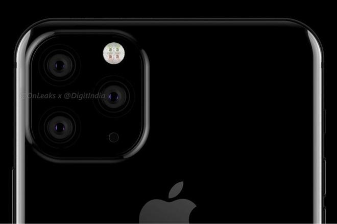 xac nhan: iphone xi va iphone xi plus se co 3 camera sau, dep la lung hinh anh 3