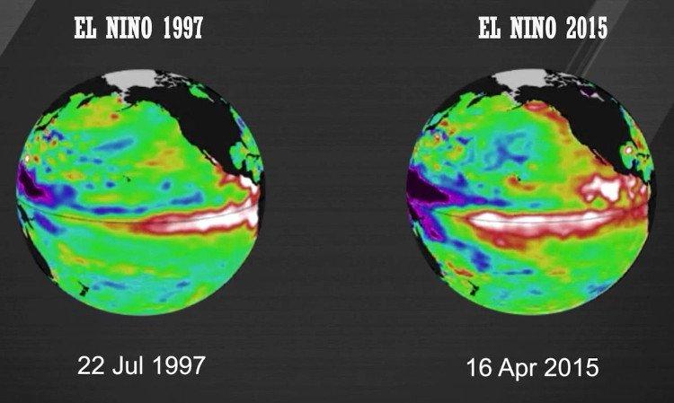 El nino là hiện tượng phá vỡ điều kiện bình thường của hệ thống đại dương.