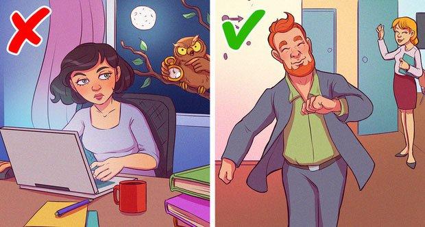 Phân tách công việc và thư giãn, hết giờ làm việc là thôi