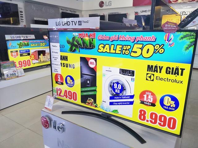 Thị trường TV đua nhau giảm giá trong tháng 6 - 1
