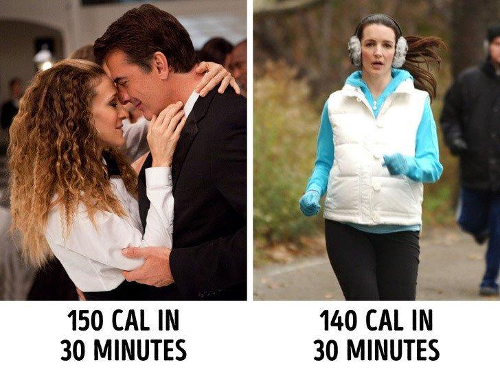 Nụ hôn giúp giảm cân