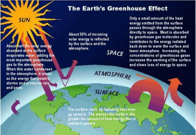 Ô nhiễm khí thải, đặc biệt với CO2, gây nóng lên của địa cầu đang là mối quan tâm lo lắng của cả thế giới.