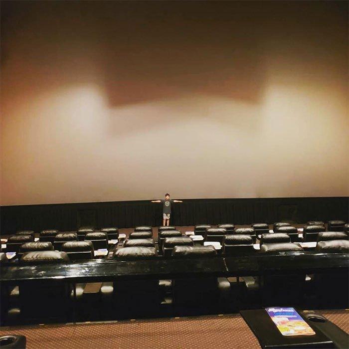 Phòng IMAX sẽ có màn hình lớn nhất