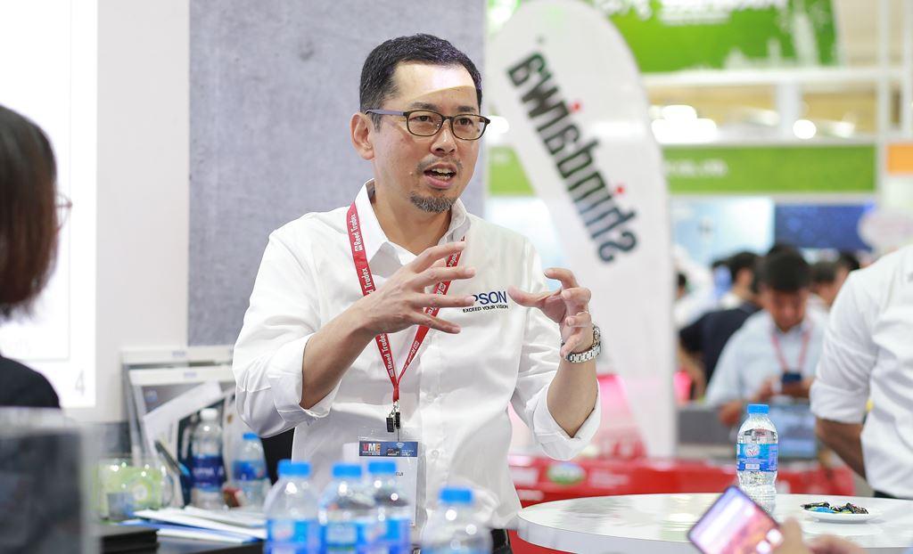 Epson lần đầu giới thiệu các giải pháp Robot công nghiệp tại Việt Nam  ảnh 2