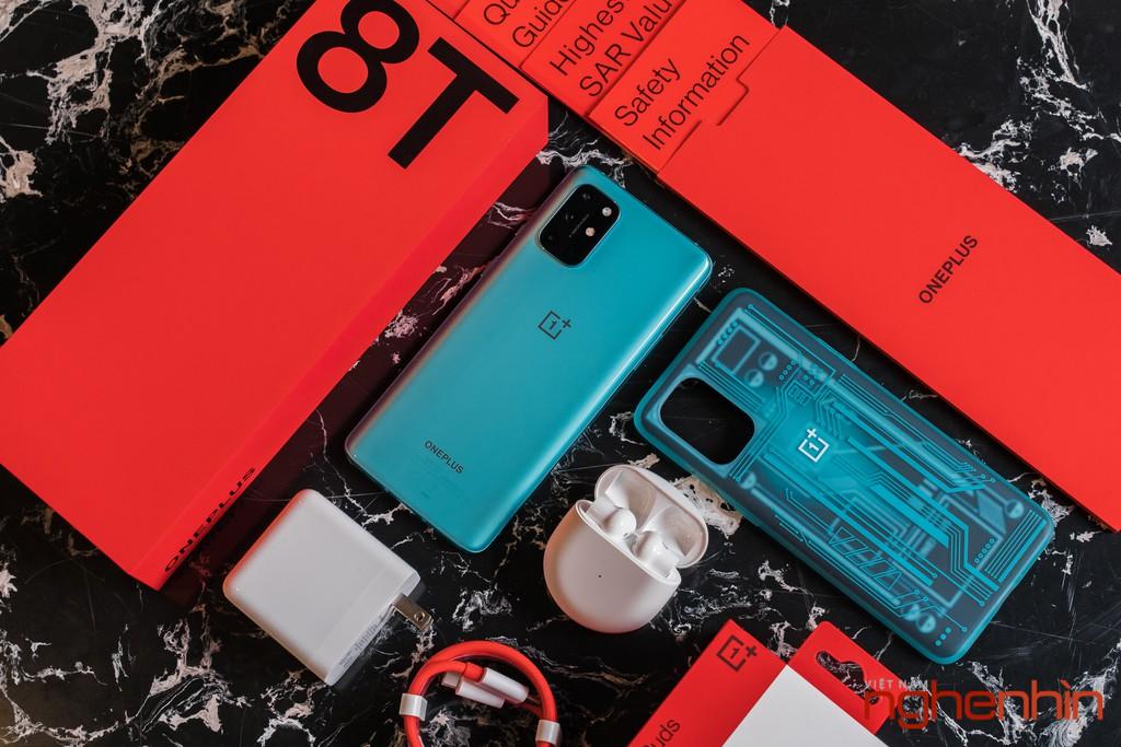 Mở hộp OnePlus 8T 5G: Thiết kế đổi màu, màn hình 120Hz, sạc nhanh 65W, quà 3 triệu ảnh 2