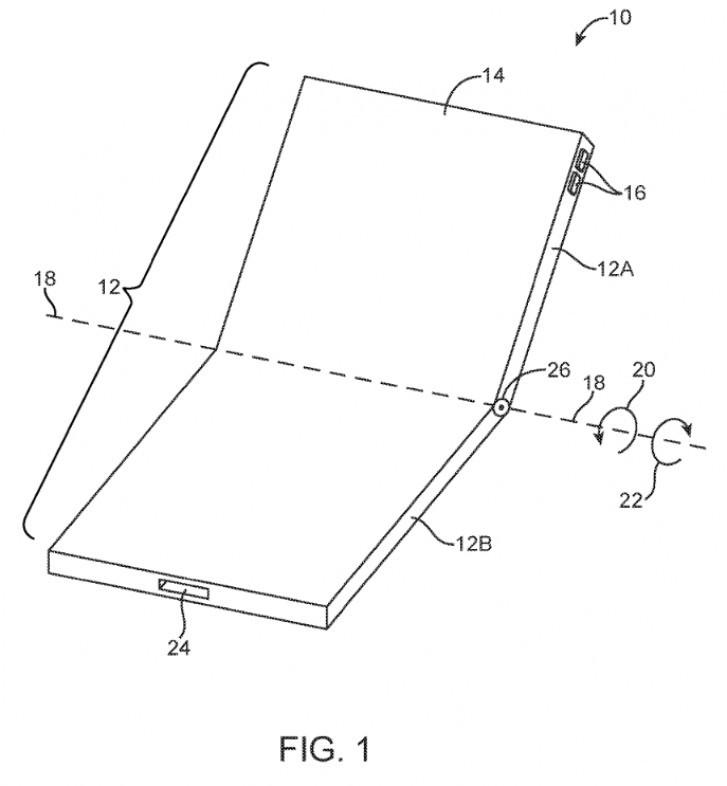 Rò rỉ iPhone màn hình gập thiết kế giống Galaxy Z Flip ảnh 2