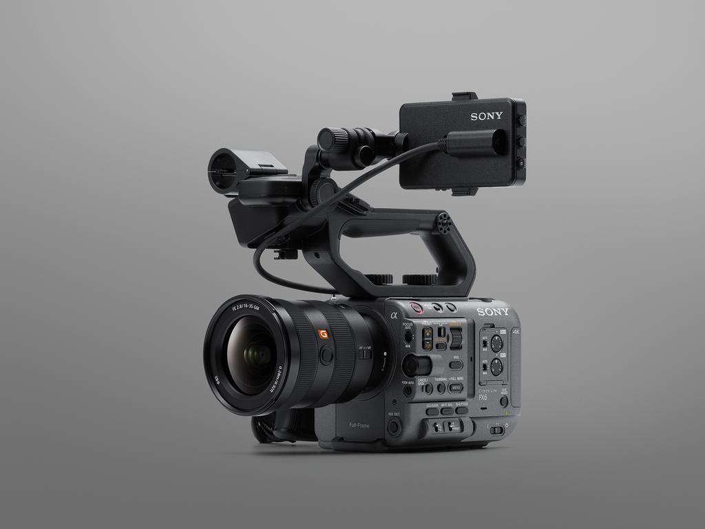 Sony ra mắt FX6: Camera gọn nhẹ với cảm biến Full-Frame giá từ 142 triệu ảnh 7