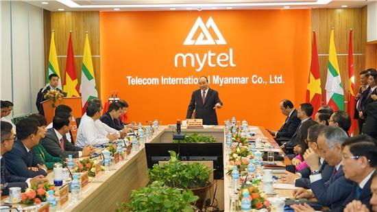 Thông qua Viettel, Việt Nam mang đến công nghệ tiên tiến nhất đóng góp cho Myanmar