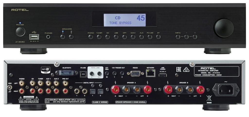 Ampli Rotel A14, RA-1572, RA-1592 đồng loạt lên phiên bản MK2, thay chip DAC mới, hỗ trợ Roon ảnh 3