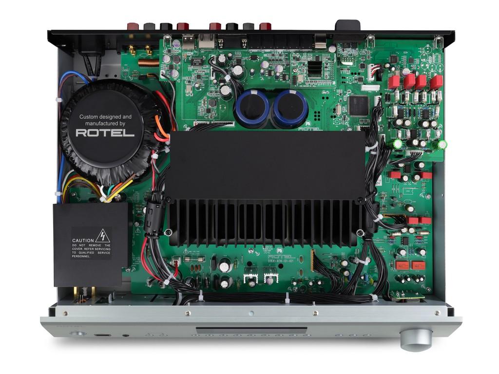 Ampli Rotel A14, RA-1572, RA-1592 đồng loạt lên phiên bản MK2, thay chip DAC mới, hỗ trợ Roon ảnh 4