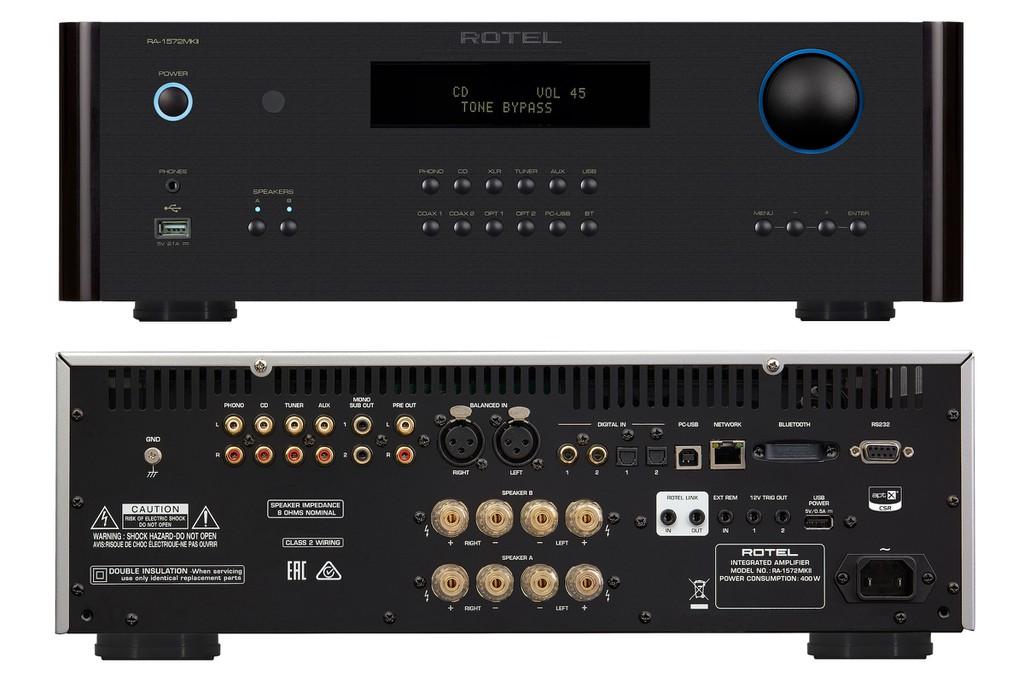 Ampli Rotel A14, RA-1572, RA-1592 đồng loạt lên phiên bản MK2, thay chip DAC mới, hỗ trợ Roon ảnh 6