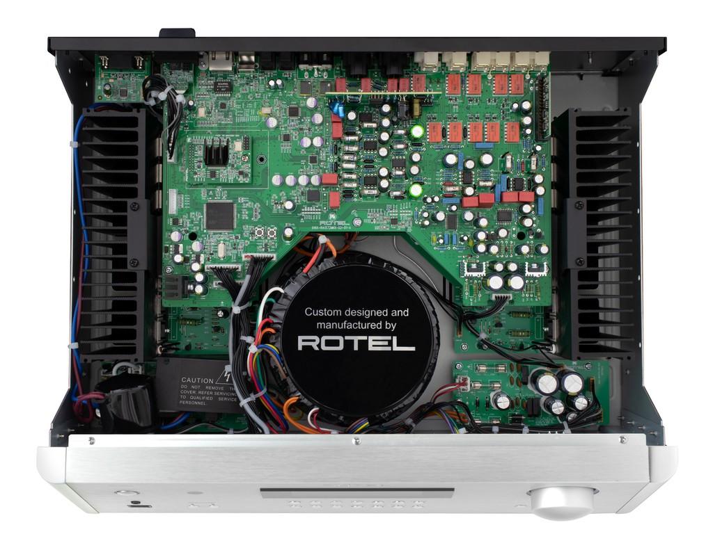Ampli Rotel A14, RA-1572, RA-1592 đồng loạt lên phiên bản MK2, thay chip DAC mới, hỗ trợ Roon ảnh 7