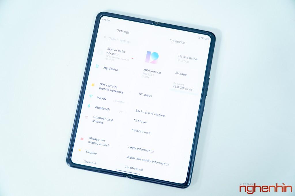 Trên tay Xiaomi Mi MIX Fold đầu tiên về Việt Nam: 40 triệu đồng có gì? ảnh 6