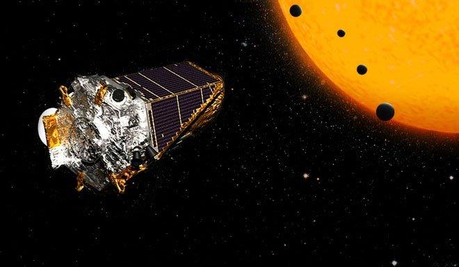 """Kính viễn vọng Kepler hiện đã được NASA cho """"nghỉ hưu"""" vào năm 2018."""
