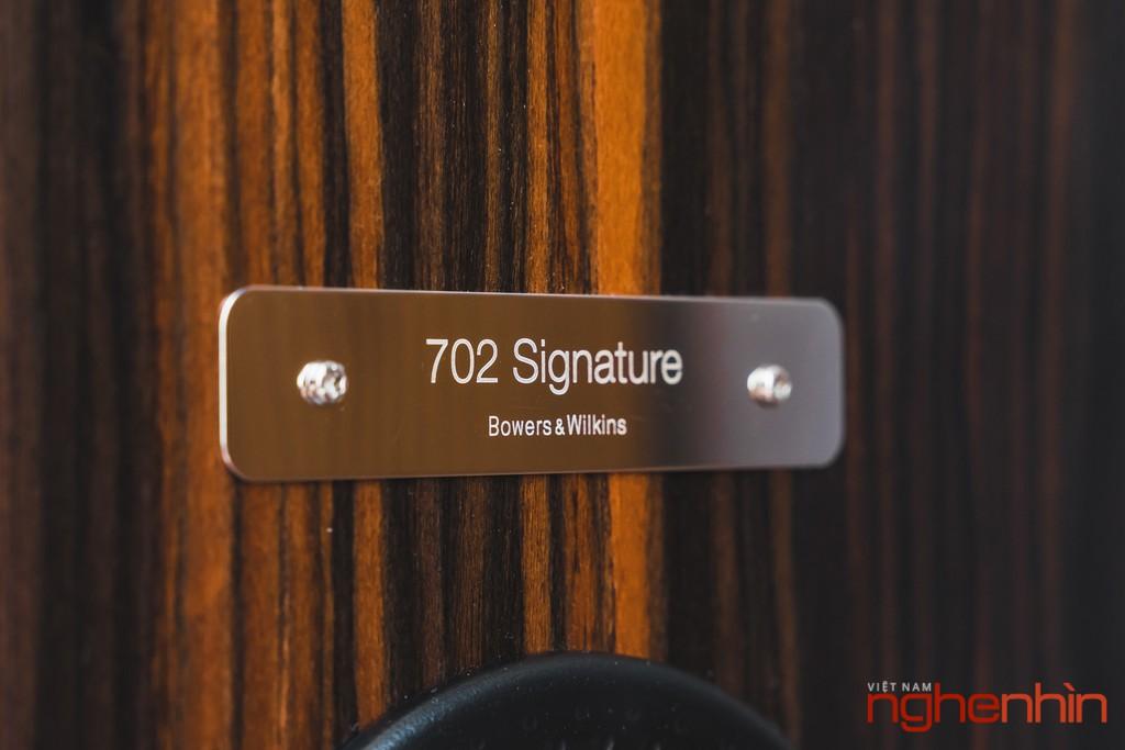 Ấn tượng loa B&W phiên bản hiếm 702 & 705 Signature, đáng chơi lẫn sưu tầm ảnh 15