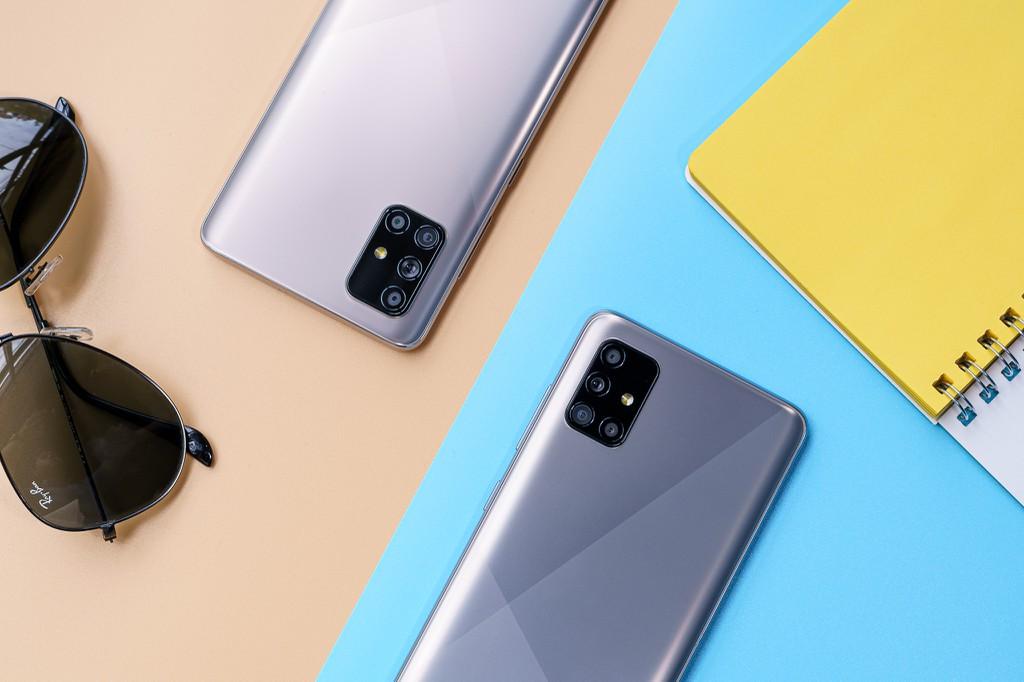 Bộ đôi Samsung Galaxy A51 và A71 lên kệ tại Việt Nam ngày 24/7 giá từ 8 triệu  ảnh 1