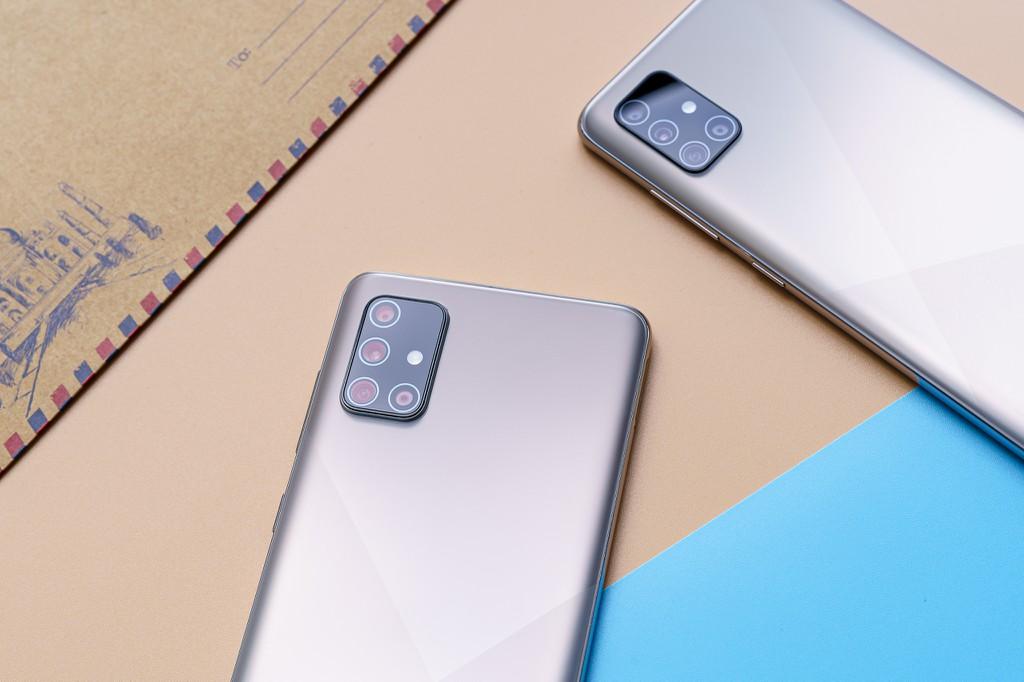 Bộ đôi Samsung Galaxy A51 và A71 lên kệ tại Việt Nam ngày 24/7 giá từ 8 triệu  ảnh 2