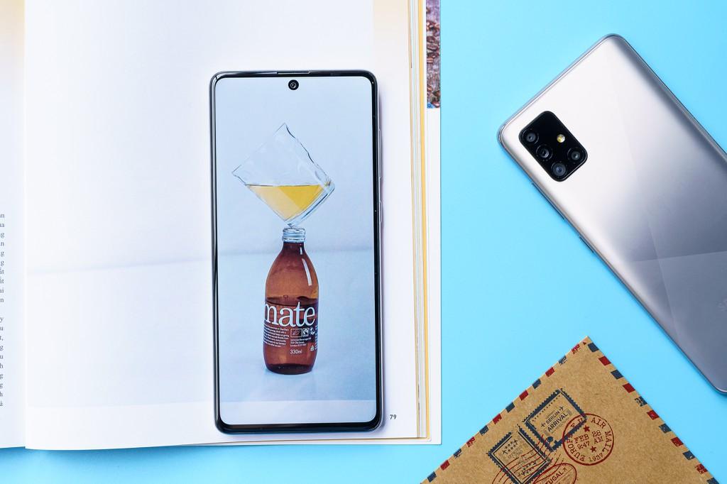 Bộ đôi Samsung Galaxy A51 và A71 lên kệ tại Việt Nam ngày 24/7 giá từ 8 triệu  ảnh 6