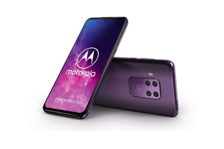 Motorola one zoom lo cau hinh voi cum 4 camera vuong