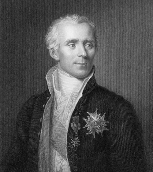 Nhà khoa học người Pháp Pierre-Simon Laplace (1749-1827)