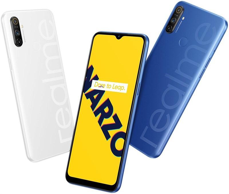 Realme Narzo 20 Pro lộ diện: 4 camera, tần số quét 90Hz, sạc nhanh 65W, giá 230 USD ảnh 2