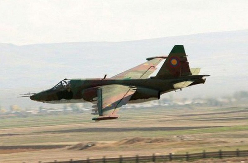 Azerbaijan tiep tuc ban roi cuong kich Su-25 cua Armenia?