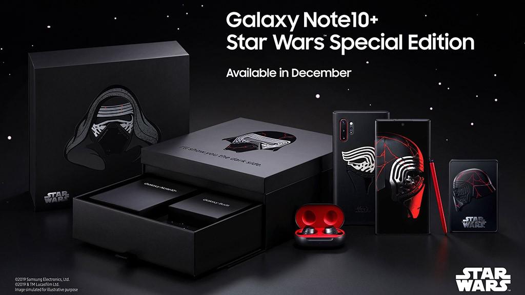 Samsung ra mắt Galaxy Note10+ bản Star Wars giới hạn giá 30 triệu đồng ảnh 1