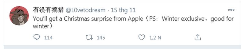 Ngoai su kien One More Thing, Apple con mot dieu bat ngo nua trong nam 2020