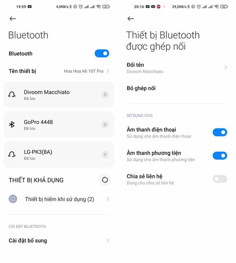 Lam the nao khi dien thoai khong the ket noi Bluetooth