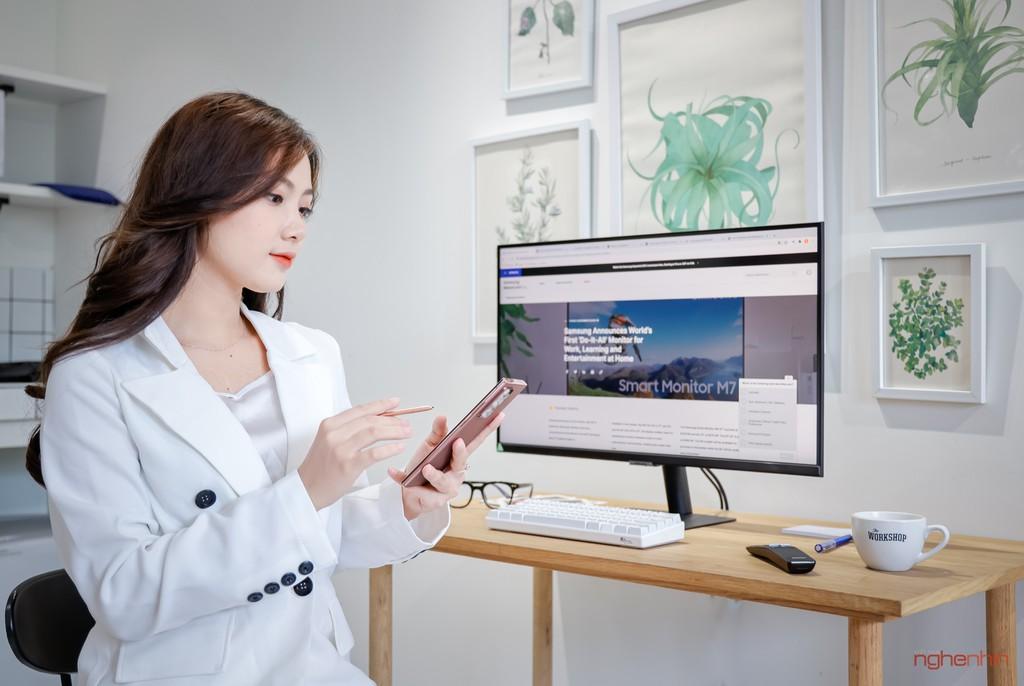 Đánh giá Samsung Màn hình thông minh M7 | M5: Bất ngờ trước hiệu năng đa nhiệm hơn cả lời đồn! ảnh 13