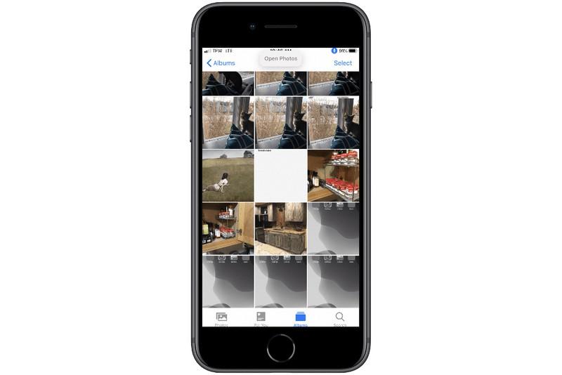 Cách chụp ảnh màn hình iPhone bằng giọng nói