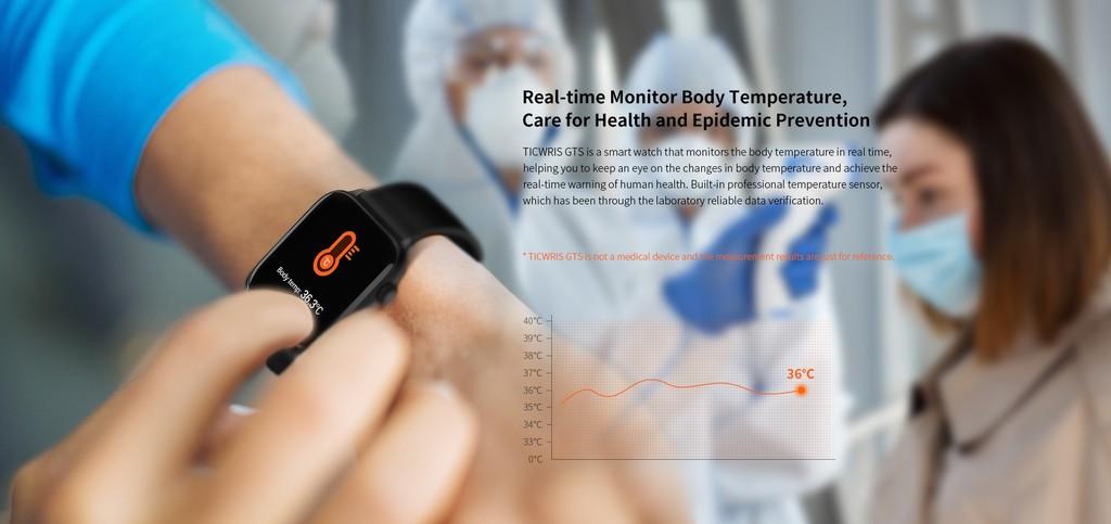 Ticwris GTS đo nhiệt độ cơ thể theo thời gian thực để ngăn chặn Covid-19 ảnh 3