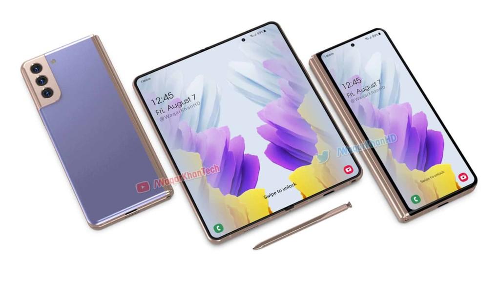 Samsung Galaxy Z Fold3 và Z Flip2 là những smartphone gập đầu tiên có thể chống nước ảnh 1