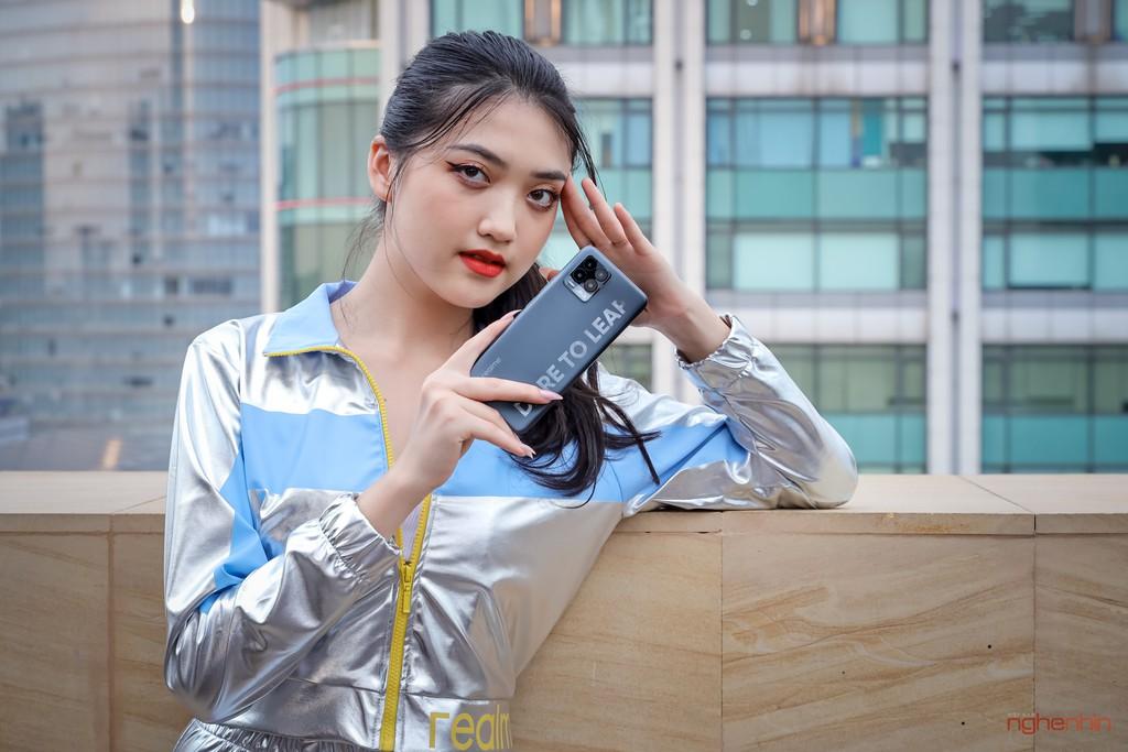 Trên tay realme 8 Pro tại Việt Nam: thiết kế trẻ trung, camera 108MP, nhiều chế độ độc đáo  ảnh 11