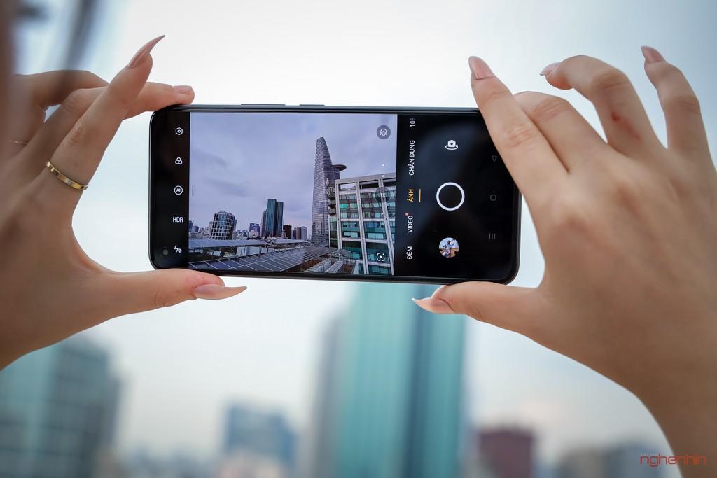 Trên tay realme 8 Pro tại Việt Nam: thiết kế trẻ trung, camera 108MP, nhiều chế độ độc đáo  ảnh 7