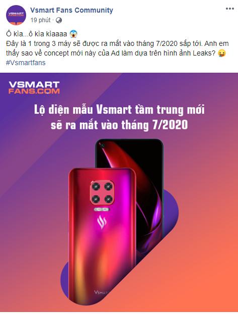 Trước Vsmart Lux, Vsmart có thể ra mắt smartphone tầm trung ngay tháng 7? ảnh 1