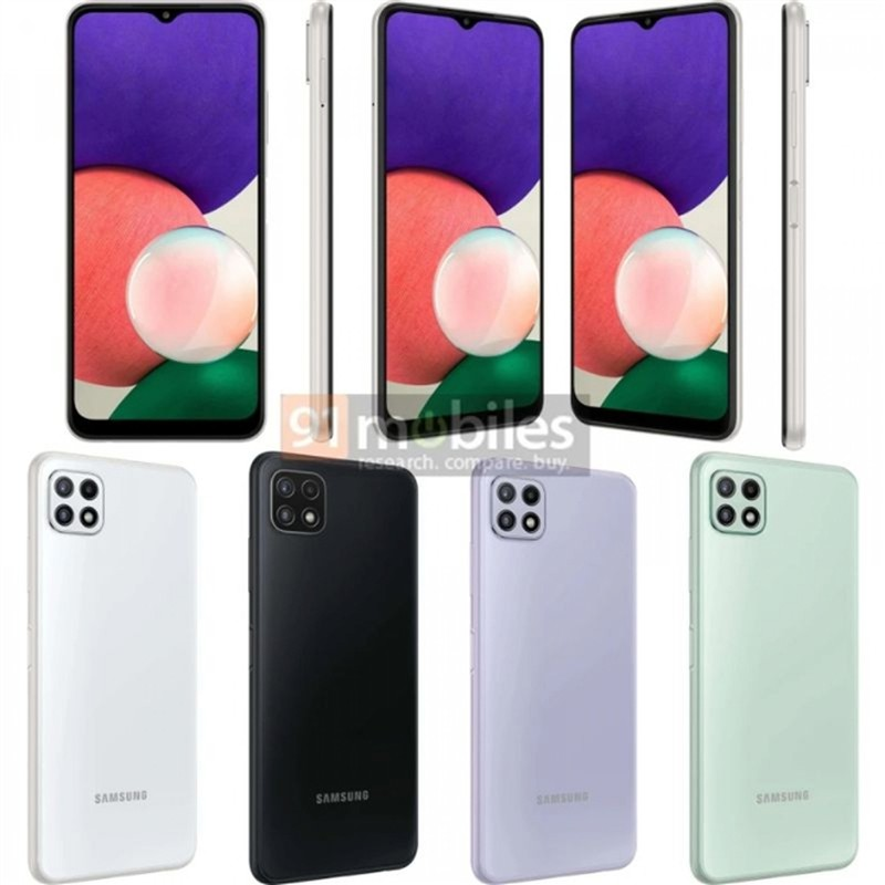 Lo dien chiec smartphone 5G re nhat cua Samsung