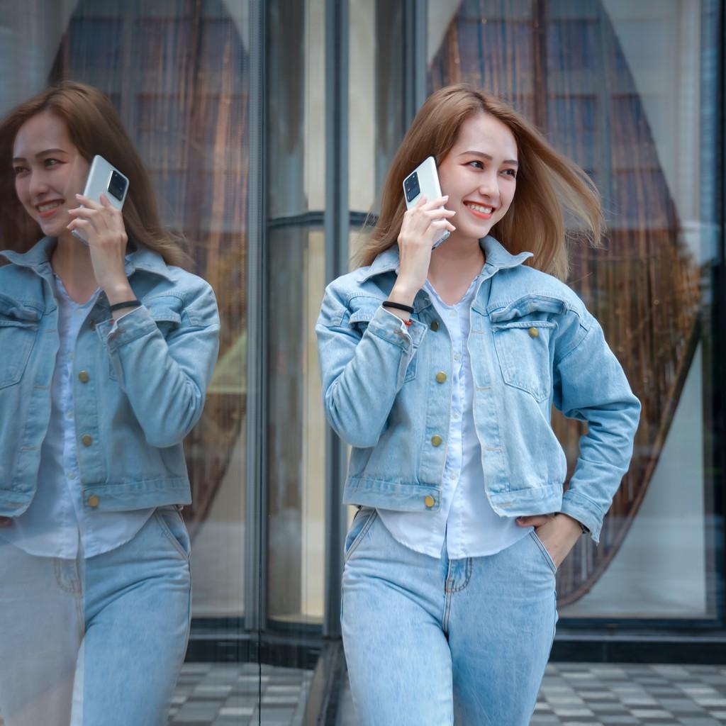 Người mẫu Phương Châu cá tính bên Galaxy S20 Ultra Trắng Tinh Vân ảnh 9