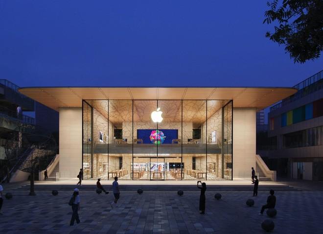 Apple vừa khai trương cửa hàng Apple Store đẹp nhất tại Trung Quốc - Ảnh 1.