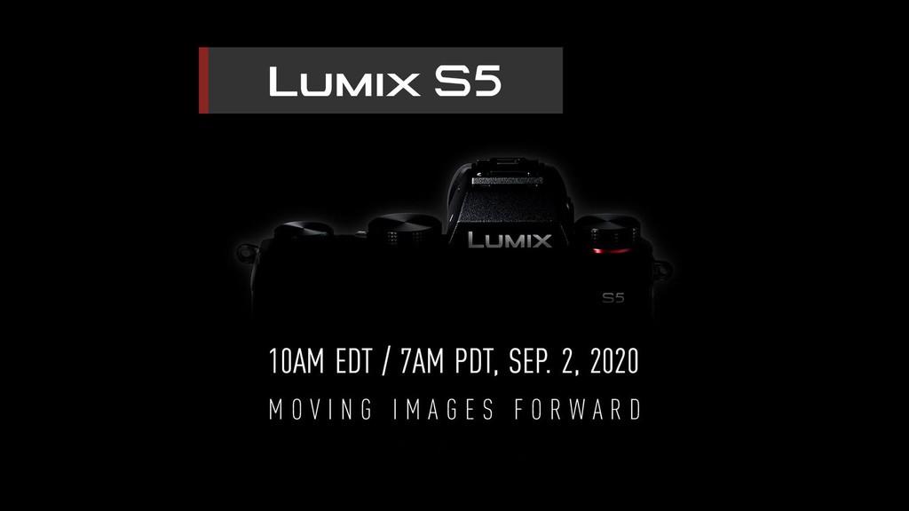 Panasonic xác nhận máy ảnh full-frame S5 sẽ ra mắt vào ngày 2 tháng 9 ảnh 1