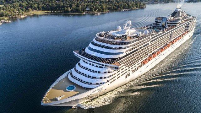 Mọi tàu du lịch cỡ lớn đều có hệ thống xử lý nước thải