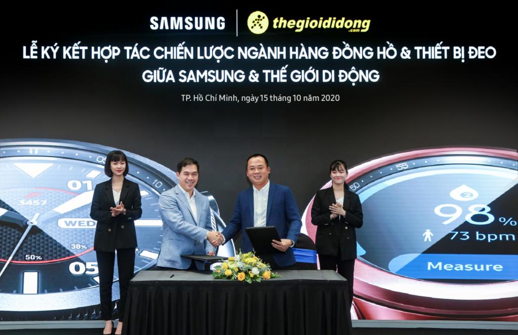 Samsung chọn Thế Giới Di Động độc quyền phân phối Galaxy Watch 3 giá từ 9,5 triệu ảnh 1