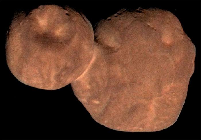 Tiểu hành tinh Arrokoth.