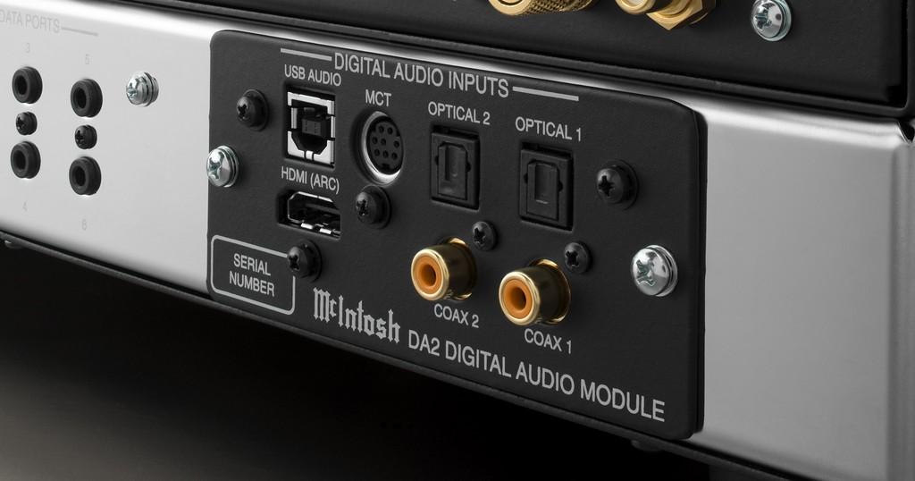 Người chơi McIntosh sắp được lên đời module DAC DA2 mới, hỗ trợ DSD 512, HDMI ARC ảnh 4