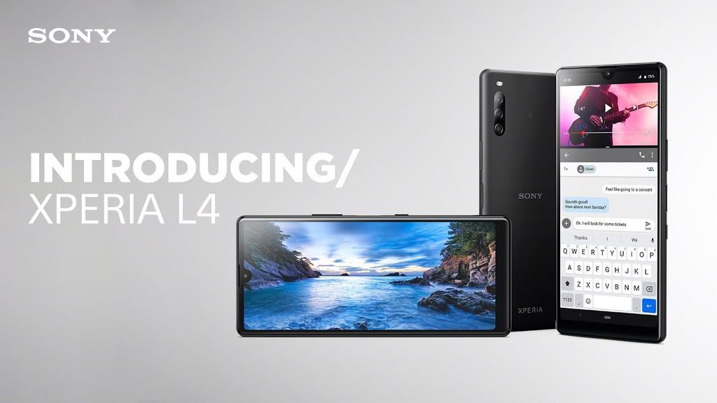 Sony Xperia L4 là smartphone Sony đầu tiên có màn hình giọt nước ảnh 1